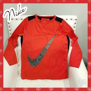 Nike set shirt pants outfit grey red black